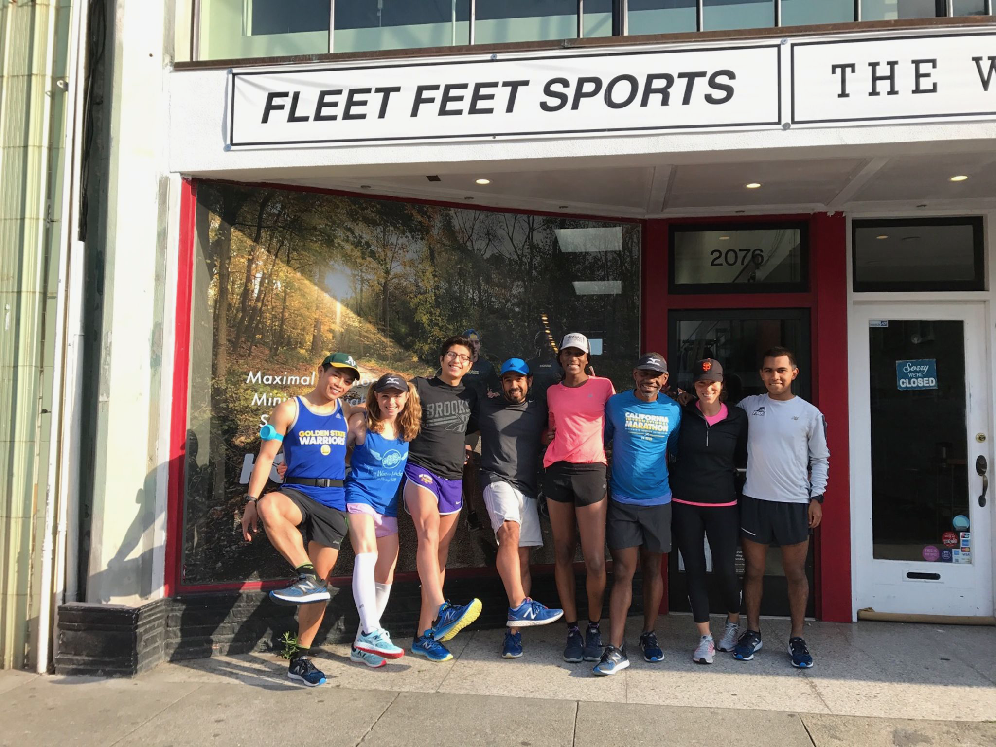 Group run with Fleet Feet SF!